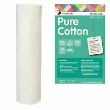 Matilda's Own 100% Cotton Quilt Batting Wadding Roll 10metres x  2.4metres wide
