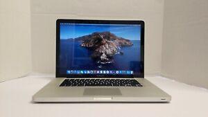 Apple MacBook Pro 15 A1286 Core i7-3615QM 2.3GHz 8GB 256GB SSD MacOS Catalina