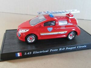 710M Del Prado 53 Electrical Proto H²O Peugeot Citroën 18 Battery Fuel 1:43