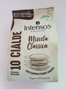120 Intenso Classico  ESE 44mm Soft/Loose  Coffee Pods  (FREE P&P)