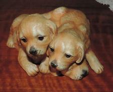 New Listing1987 Homco Masterpiece Porcelain Figurine Three Puppies Labrador Retriever