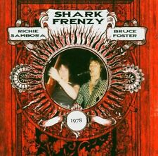 SHARK FRENZY - RICHIE SAMBORA / BRUCE FOSTER - CD NUEVO - ROCK BON JOVI