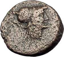 TEMNOS in AEOLIS 2-1CenBC ATHENA PROMACHOS Authentic Ancient Greek Coin i63111
