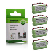 4pc Cordless Home Phone Battery For AT&T VTech BT166342 BT266342 BT183342 283342