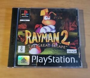 Rayman 2:The Great Escape - Sony Playstation 1(PS1) Game *W/ Manual* BLACK LABEL
