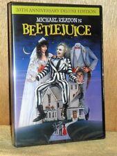 Beetlejuice (DVD, 2009, Deluxe Edition) NEW Micahel Keaton Geena Davis comedy