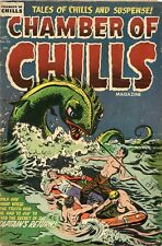 Chamber Of Chills #26 Pre Code Horror VG 4.0 Witches Tales 1954 Comic Book