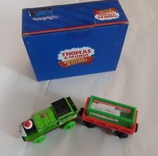 Thomas The Tank & Friends PERCY AND LETTERS TO SANTA WOODEN NEW IN BOX CHRISTMAS