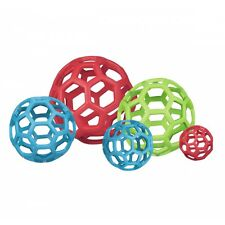 JW Pet Hol-ee Roller Durable Lattice Rubber Ball Dog Toy - Medium Size 5