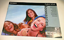 Sony Cyber-shot DSC-W Series Accessories Sales Leaflet / Booklet from 2007