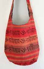 Boho Mantra Indian Sadhu Festival Shoulder Bag Handmade Hobo Beach Hippie Ethnic