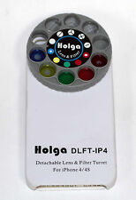 Holga iPhone DETACHABLE Lens Filter Kit DLFT-IP4 for iPhone 4/4s WHITE