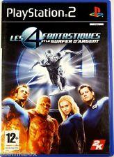 Les 4 FANTASTIQUES et le SURFER D'ARGENT - jeu pr console PlayStation 2 Sony PS2