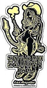 Erosty Pop! Cowgirl! Rockin Jelly Bean Sticker Decal R9