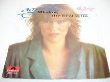 "Agnetha Faltskog ABBA -The Heat is On 7"" vinyl HOLLAND"