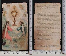 SS. Sacramento -Orazione a Gesù Sacramentato e al suo Divin Cuore-Junli 1899 -63