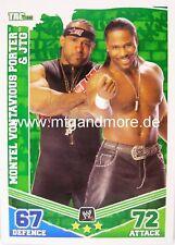 Slam ATTAX Mayhem #155 Montel Vontavious Porter & JTG