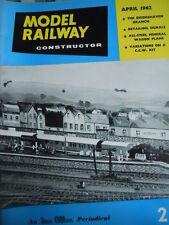Model Railway Constructor 4 1962