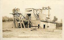 RPPC Postcard Ashburton Gold Mining Dredge Folsom CA Sacramento County