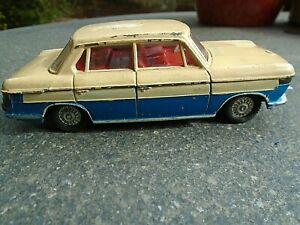 VINTAGE DINKY TOYS 157 BMW 2000 TILUX BY MECCANO LTD IN ENGLAND 1960s
