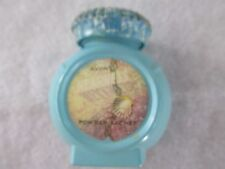 Avon Vintage Powder Sachet Blue Glass Bottle
