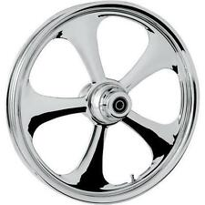 RC Components Nitro Chrome 21x3.5 Front Wheel (Dual Disc)  21350-9917-92C*