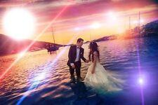 Dein Lieblingsbild Hochzeit Foto LED Leucht- Bild Beleuchtung  45 cm x 65 cm
