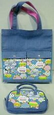 Peanuts Snoopy and His Friends Denim Bags Totes