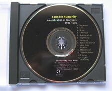 Peter Kater R. Carlos Nakai Song, For Humanity Celebration Of Ten Years 88-98 CD