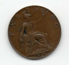 Great Britain - Engeland - 1 Farthing 1919