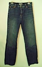 LEVIS 512 WOMENS BLUE JEANS PERFECTLY SLIMMING  BOOTCUT MISSES 10 29 W/31.5 INS