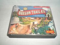 The Oregon Trail 4th Edition 3 CD Set by The Learning Company