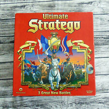 Ultimate Stratego Board Game 2-4 Player 3 Great New Battles 1997 Nearly Complete