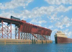 Ore Dock Kit HO - Walthers Cornerstone #933-3065  vmf121