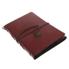 Wedding Photo Book Vintage Leather Album Scrapbook Gift Memories Case
