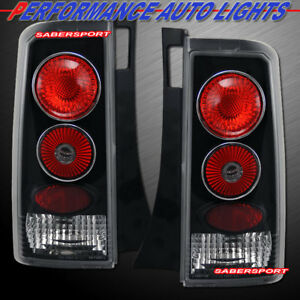 Set of Pair Black Altezza Style Taillights for 2003-2007 Scion xB
