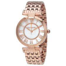 Guy Laroche Far East White Mother of Pearl Dial Ladies Rose Gold Tone Watch