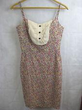 Alannah Hill Size 8 Pastel Pink Floral Tea Dress