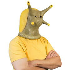 Animal Latex Masks Snail Banana Slug Full Face Mask Adult Halloween Cosplay Prop