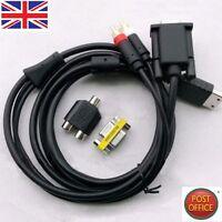 VGA High Definition Cable RCA Sound Adapter HD box PAL NTSC For SEGA Dreamcast