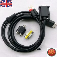 VGA High Definition Cable RCA Sound Adapter HD box PAL NTSC For SEGA Dreamcast