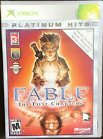 Fable The Lost Chapters Platinum Hits XBOX, Missing Booklet