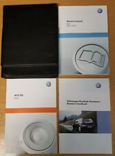 GENUINE VW GOLF MK6 HANDBOOK OWNERS MANUAL RCD 310 2008-2012 PACK H-209