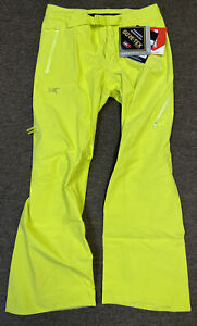Arc'teryx Sentinel LT Gore-Tex Ski Snowboard Pant Women's Size 12 Luciole New G