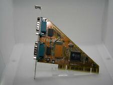 ✔️⚙️ NOS - DIGITUS DUAL SERIAL PORT RS-232 COM DB9 PORT PCI CARD - UK SELLER