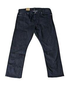 Polo Ralph Lauren Mens Jeans Blue Size 36x32 Prospect Straight Stretch $89 095