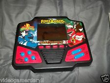 Electronic POWER RANGERS (BARCODZZ)-TIGER Electronics LCD Handheld Game 1994
