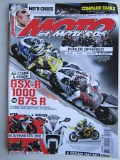 MOTO et MOTARDS N°152/GSX-R 1000 VS 675 R /R1-CBR 1000 RR-STREETFIGHTER 848-BRUT