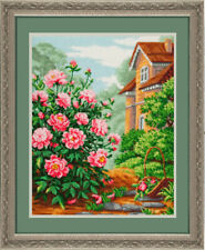 """Bead Embroidery kit GOLDEN HANDS P-015 - """"In the country"""""""
