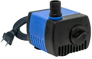 80 GPH Aquarium Submersible Water Pump Fish Tank Powerhead Fountain Hydroponic